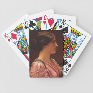 Classical Beauty by John William Godward Bicycle Playing Cards