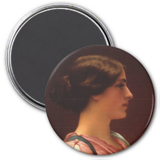 Classical Beauty by John William Godward Magnet