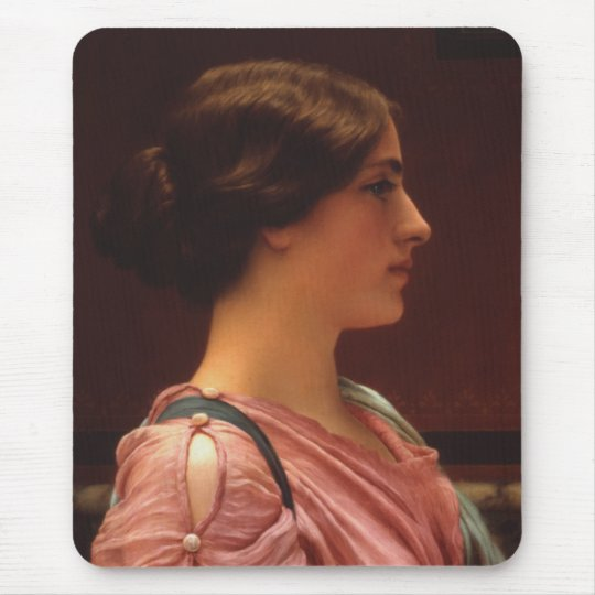Classical Beauty by John William Godward Mouse Pad