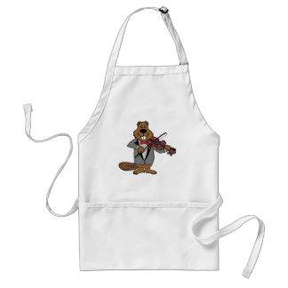 classical beaver adult apron