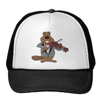 classical beaver trucker hat