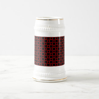 Classical black and red Stein Mug