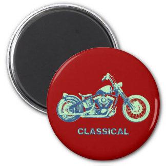 Classical -blu-grn 2 inch round magnet