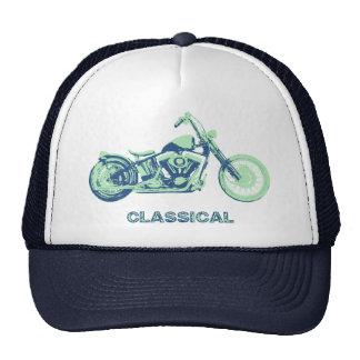 Classical -blu-grn hat