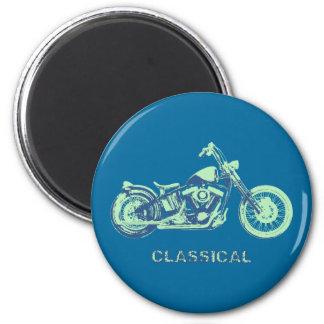 Classical -blu-grn magnet