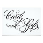Classical | Cards & Gifts Wedding Sign