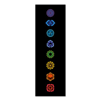 classical chakras business card template
