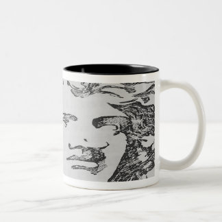Classical Charcoal Two-Tone Coffee Mug