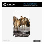 Classical Chinese style art, Herd of Camels Skins For iPod Touch 4G
