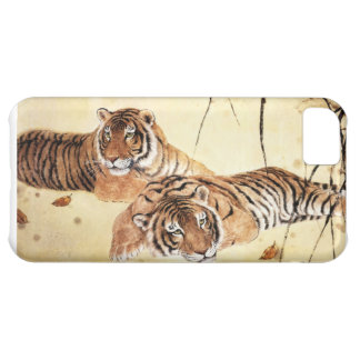 Classical Chinese style art, Reclining tigers Case For iPhone 5C