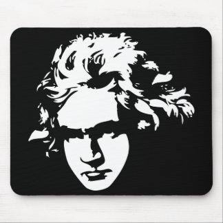 Classical Composer Beethoven Computer Gift Mouse Pad