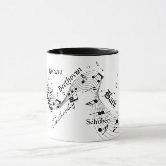 classical composers mug