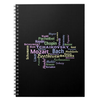 Classical Composers Word Cloud Notebook