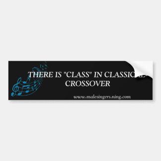 Classical-Crossover Bumper Sticker
