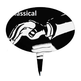 Classical Dashboard drummer wear Cake Topper