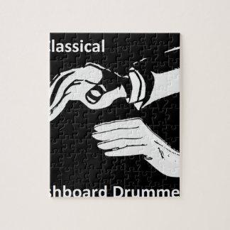 Classical Dashboard drummer wear Jigsaw Puzzle