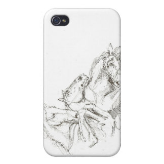 Classical Drawings in the Style of the Old Masters iPhone 4 Cover