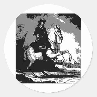 Classical Dresage 10 Classic Round Sticker