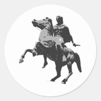 Classical Dressage 2 Classic Round Sticker