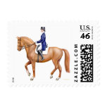 Classical Dressage Horse Postage