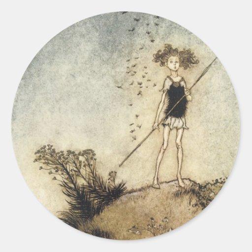 Classical Faerie Sticker
