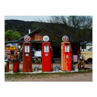 Classical Gas Museum, New Mexico Poster