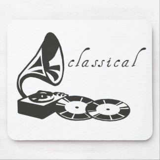 Classical Gramophone Mouse Pad