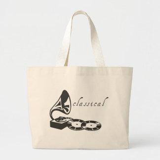 Classical Gramophone Tote Bag