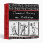 Classical Greece / Rome Mythology Notebook Binder