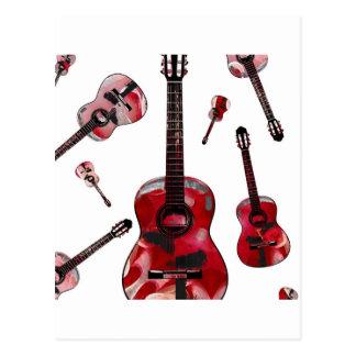 Classical guitar 02.jpg postcard