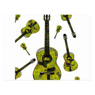 Classical guitar 04.jpg postcard