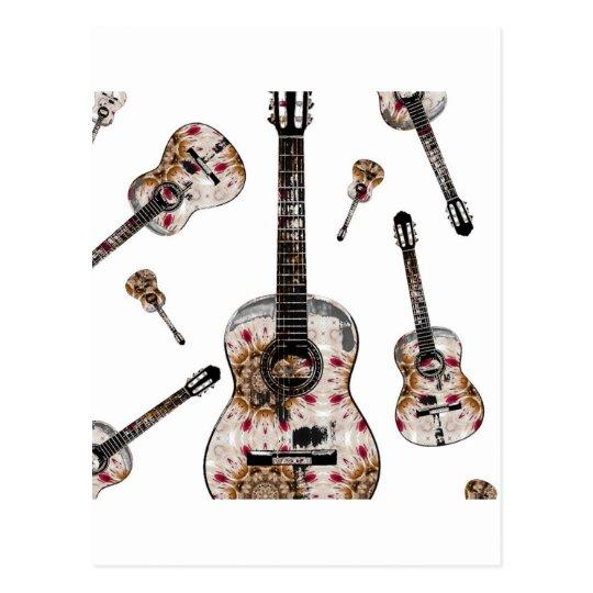 Classical guitar 15.jpg postcard