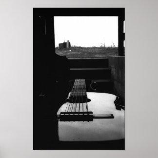 Classical Guitar, 1984 Print