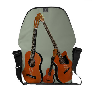 Classical Guitar Acoustic Bass and Ukulele Courier Bag