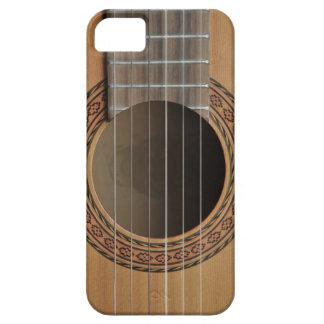 Classical guitar beige tan iPhone SE/5/5s case