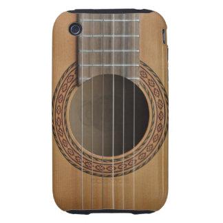 Classical guitar beige tan tough iPhone 3 cover