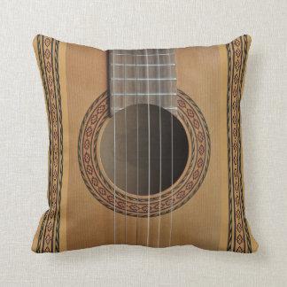Classical guitar cushion pillow