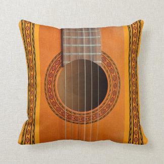 Classical guitar cushion pillows