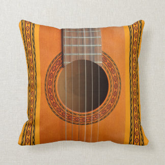 Classical guitar rosette close-up cushion