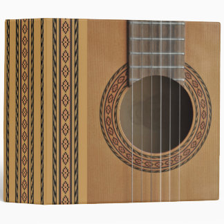 Classical guitar v2 Avery 2 inch binder