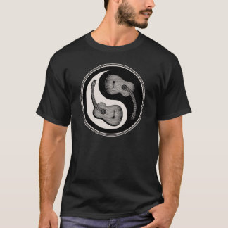 Classical Guitar Yin Yang T-Shirt