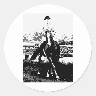 Classical Horse 14 Classic Round Sticker