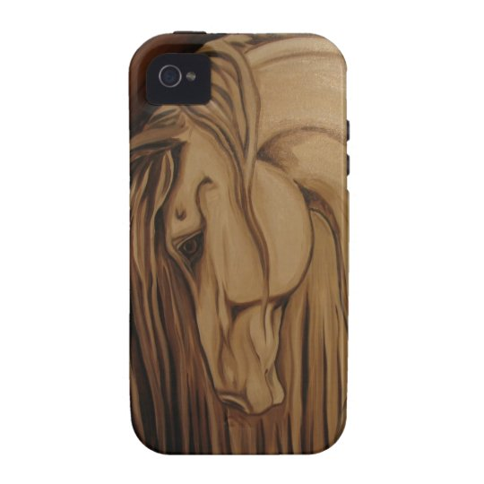 Classical Horse Case-Mate iPhone 4 Cover