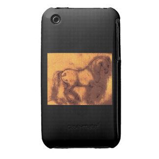 Classical Horse iPhone 3 Case
