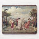 Classical Idyll (oil on canvas) Mouse Pad