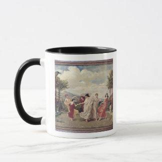 Classical Idyll (oil on canvas) Mug