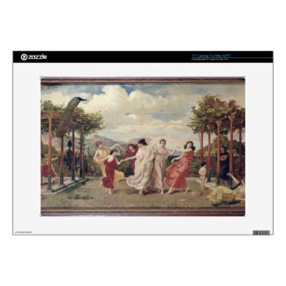 Classical Idyll oil on canvas Laptop Skin