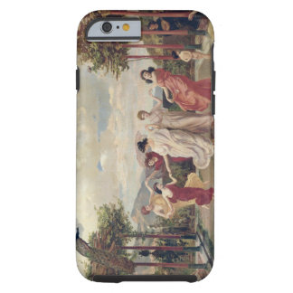 Classical Idyll (oil on canvas) Tough iPhone 6 Case