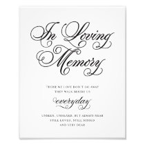 Classical | In Loving Memory Sign