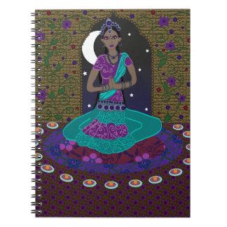 Classical Indian Dancer Notebook
